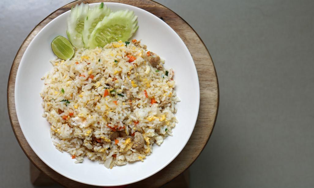 Easy egg fried rice recipe : Indian Food recipe - YouTube